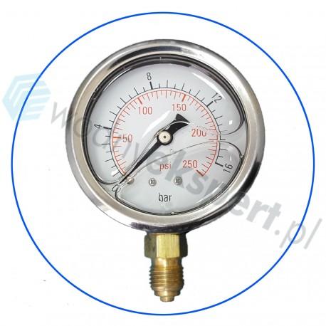 Manometr glicerynowy - ciśnieniomierz