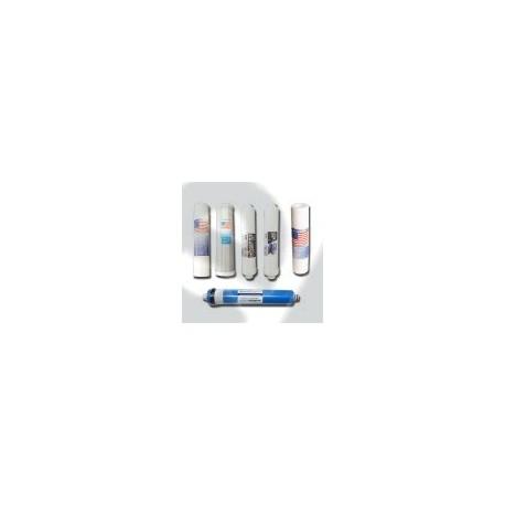 Wkłady do filtra wody osmoza RO6 MEMBRANA 75 GPD
