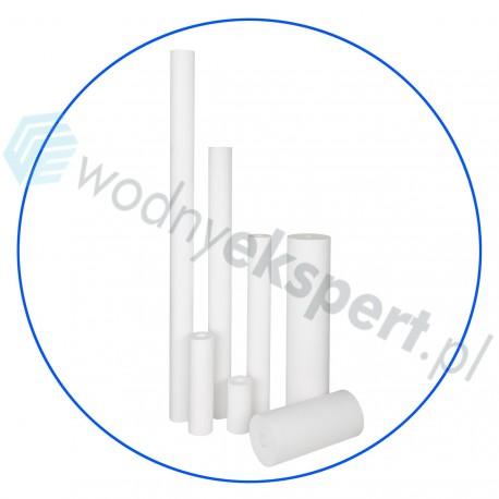 """Wkład z włókniny polipropylenowej Aqiafilter 5"""" x 2 1/2""""5''"""