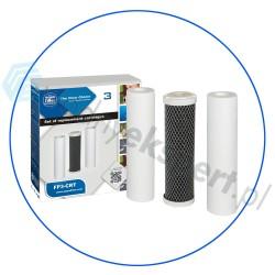 Komplet 3 wkładów Aquafilter do systemów RO FP3-2